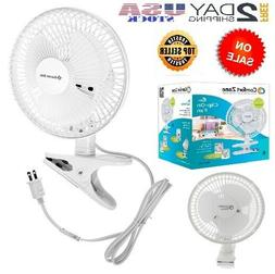 Clip On Mini Electric Portable Desk Cooling Fan Easy install