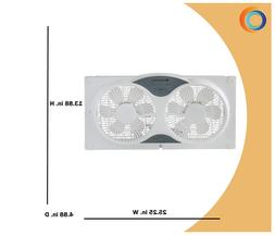 cz310r twin window cooling fan with remote