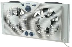Holmes HAWF-2041 Twin Window Fan with Comfort Control Thermo